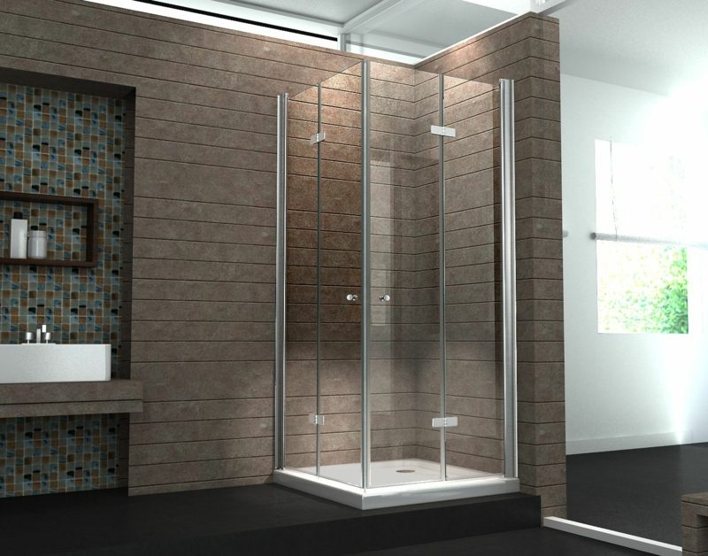 Duschkabine Aus Glas Modernes Design