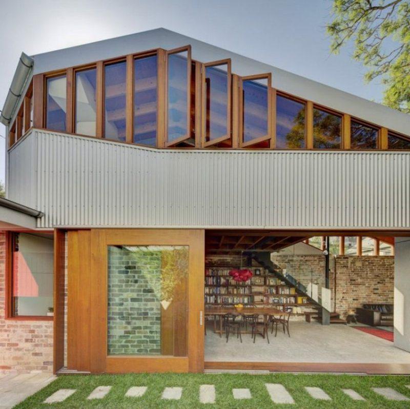 Fassadenverkleidung Metall Paneele