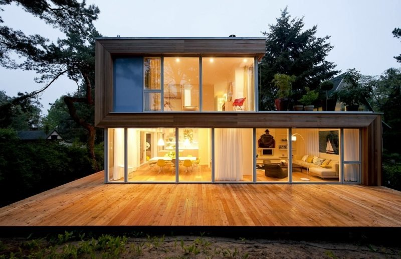 Hausfassaden kreative Gestaltungsideen