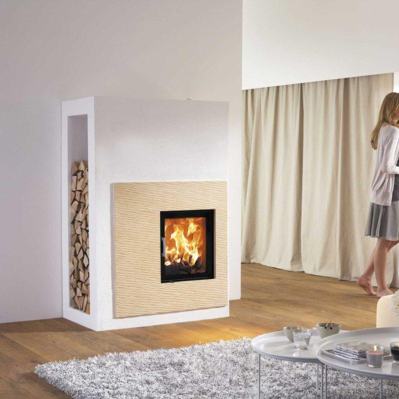 Moderne Kaminöfen von Austroflamm werden mit Nachdenken hergestellt