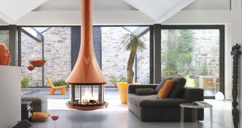 Gönnen Sie sich ein Stuck Gemütlichkeit mit modernen Kaminöfen