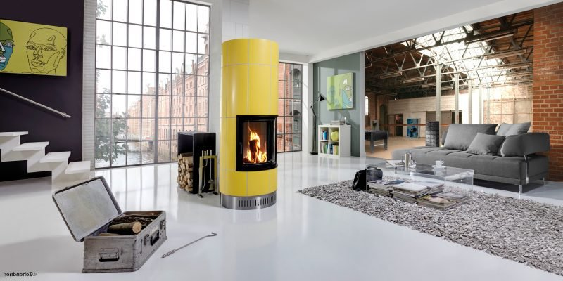 Moderne Kaminöfen bieten Farbgestaltung nach Ihrem Geschmack