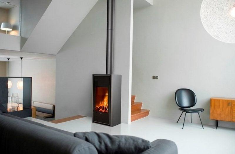 Moderne Kaminöfen - freistehende Kaminöfen
