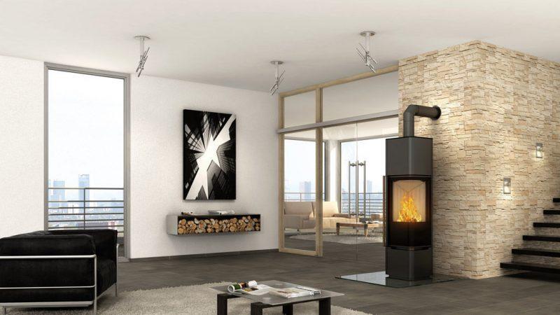 Moderne Kaminöfen wirken minimalistisch