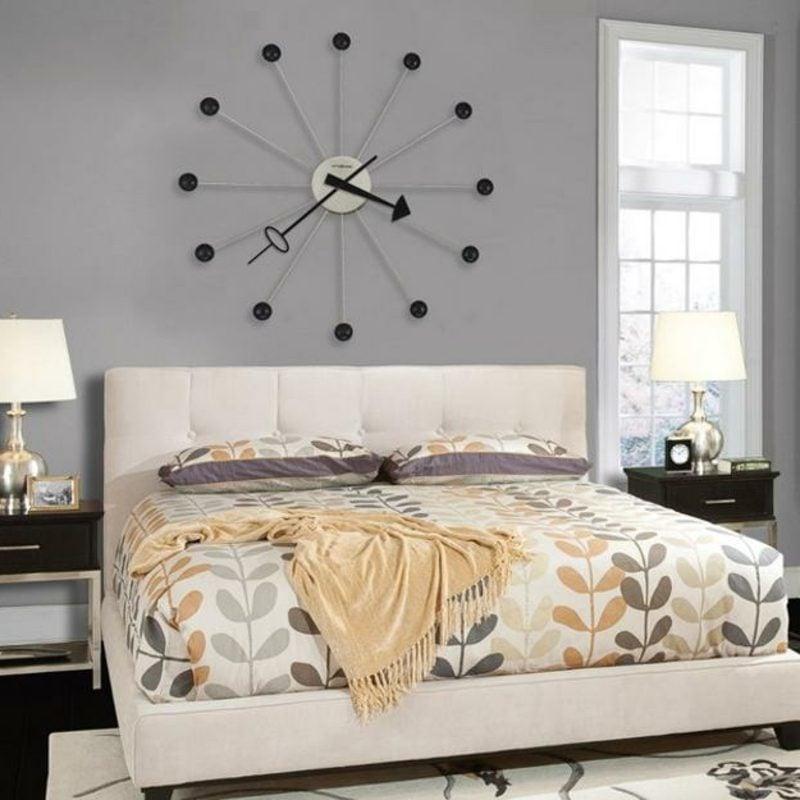moderne wanduhren deko feiern diy wandverkleidung zenideen. Black Bedroom Furniture Sets. Home Design Ideas