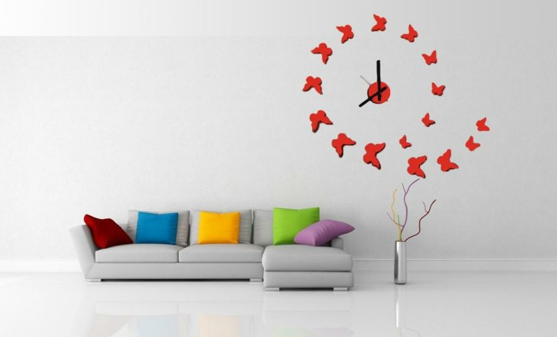 moderne wanduhren design home decor fantastic