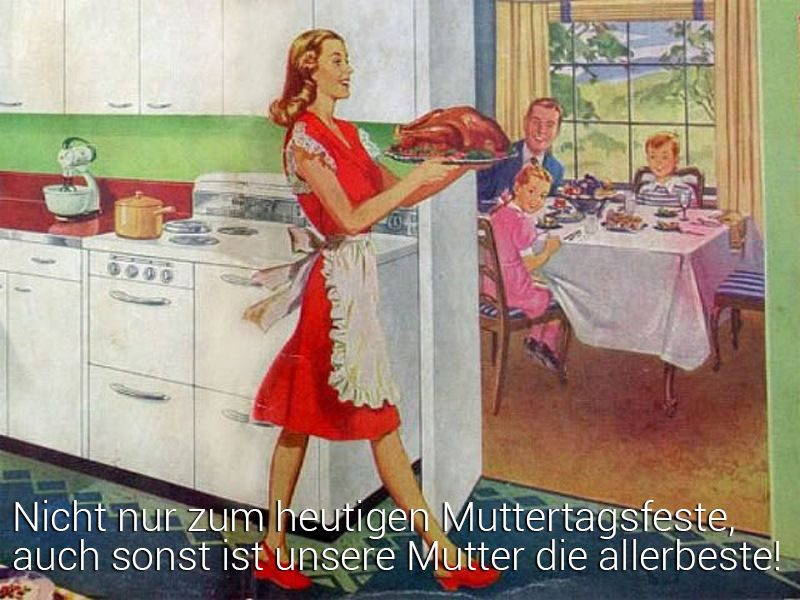 muttertagsspruch traditionell
