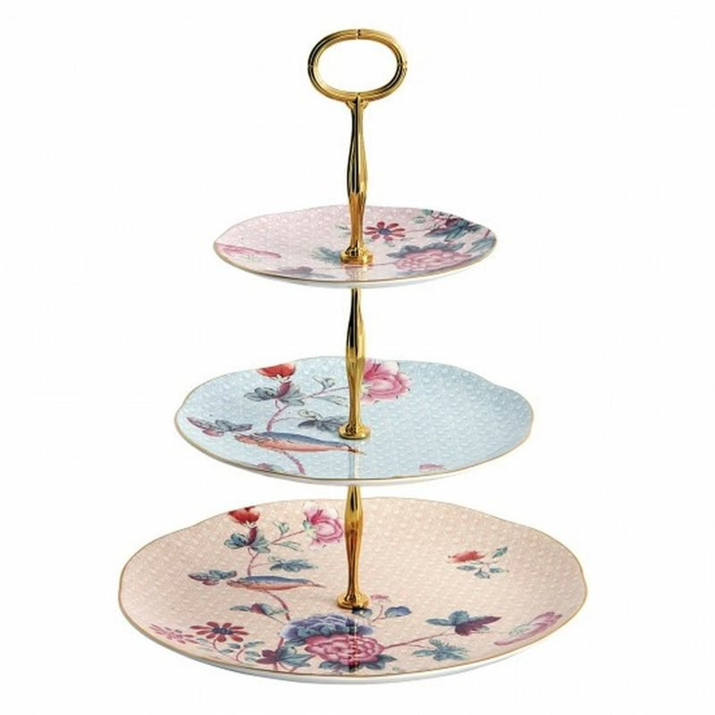 Etagere originell dekorierte Teller