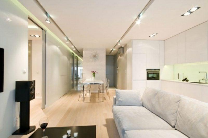 Deckenbeleuchtung indirekt Wohnzimmer
