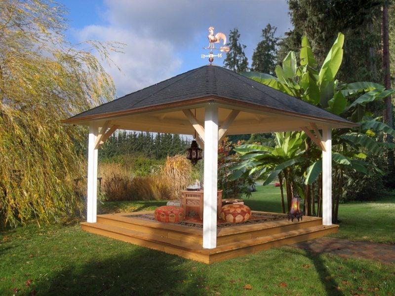 pavillon selber bauen oriental
