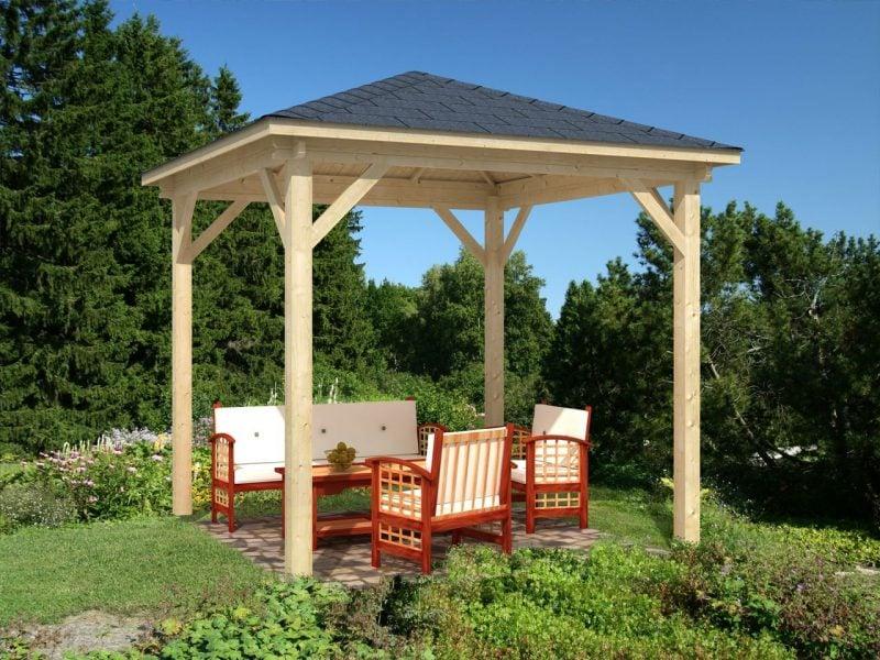 pavillon selber bauen simpel