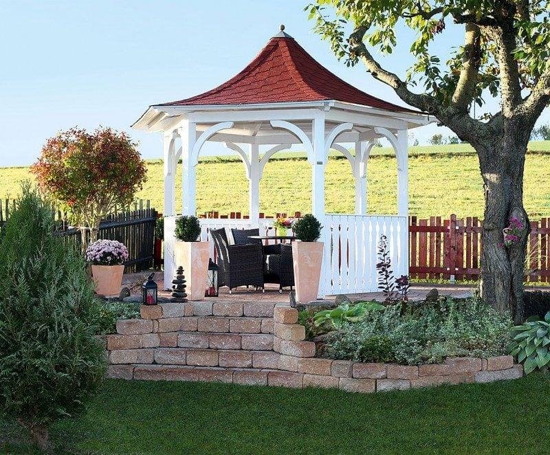 pavillon selber bauen märchenhaft
