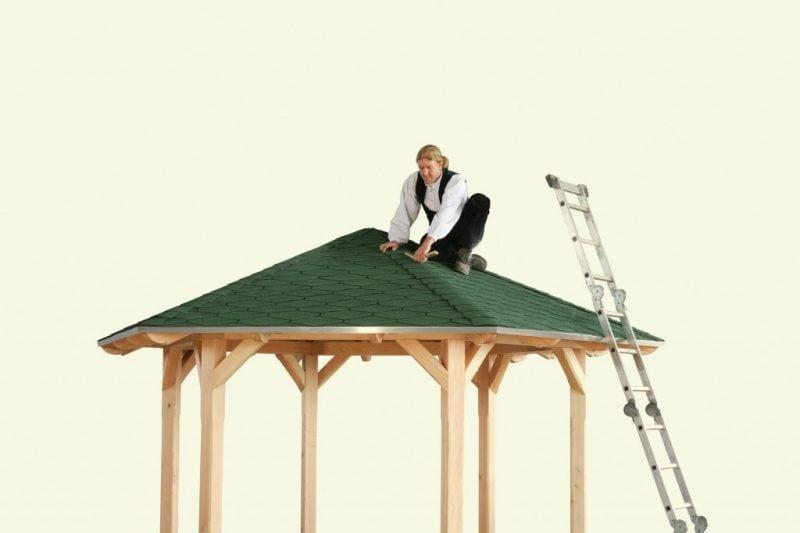pavillon selber bauen finalstrichen