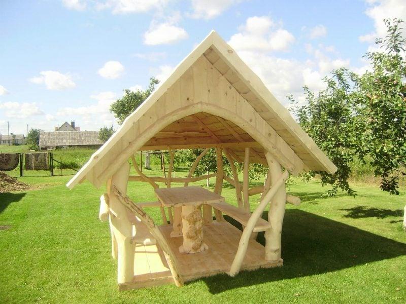 pavillon selber bauen außerordentlich