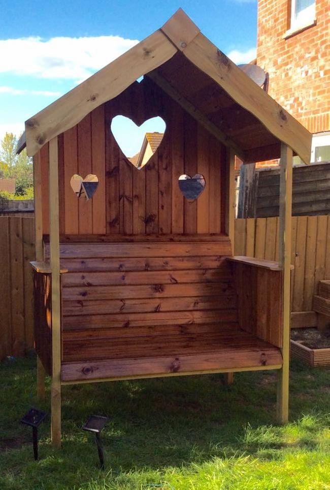 pavillon selber bauen süß