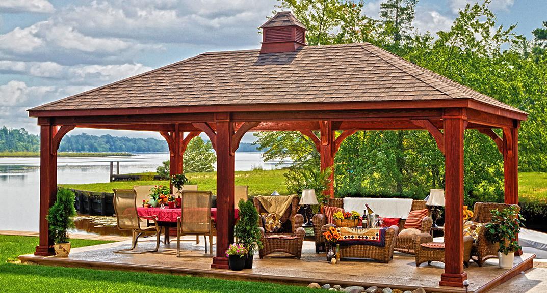 Gartenpavillon selber bauen  Pavillon selber bauen: Anleitung+25 elegante Gestaltungsideen ...