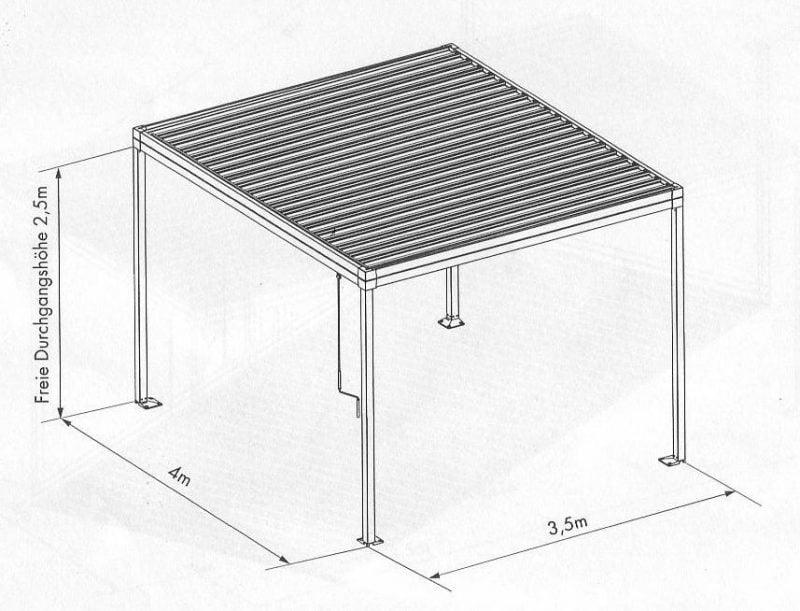 pergola bausatz anleitung 14 sthetische gestaltungsideen garten pergola gartenlaube. Black Bedroom Furniture Sets. Home Design Ideas