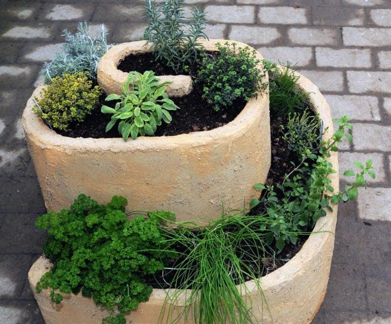 pflanzsteine setzen beton