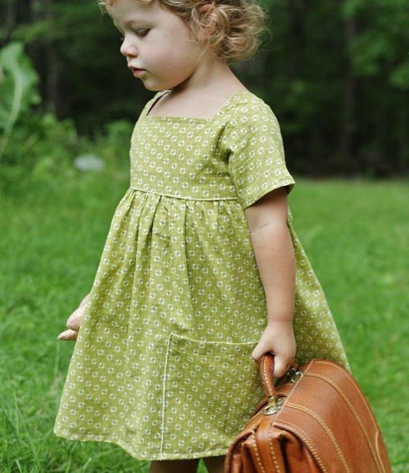 Kinderkleidung nähen kreative DIY Ideen