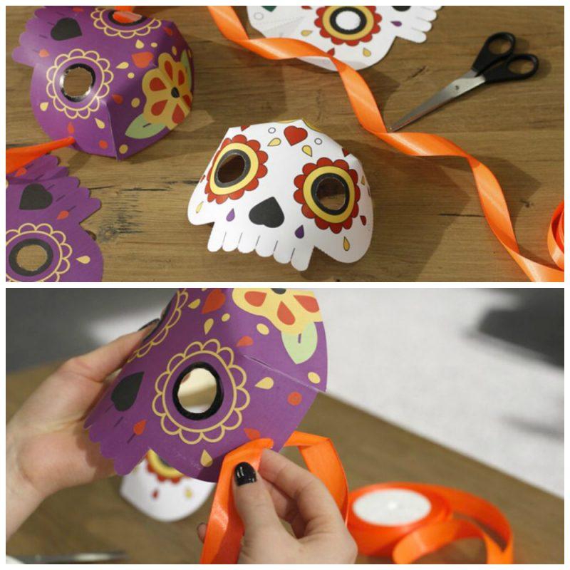 Schablonen zum Ausdrucken: Basteln Sie selbst eine Halloween Maske