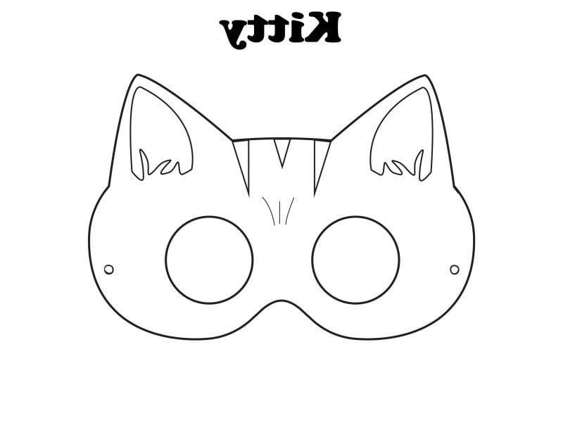 Schablonen zum Ausdrucken Hallo Kitty