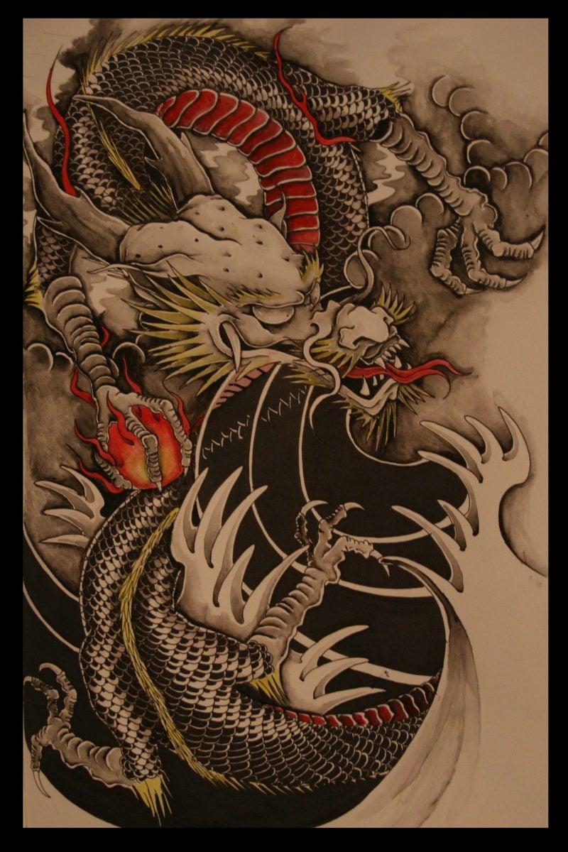 Schlangen Tattoo 3D Design Vorlage