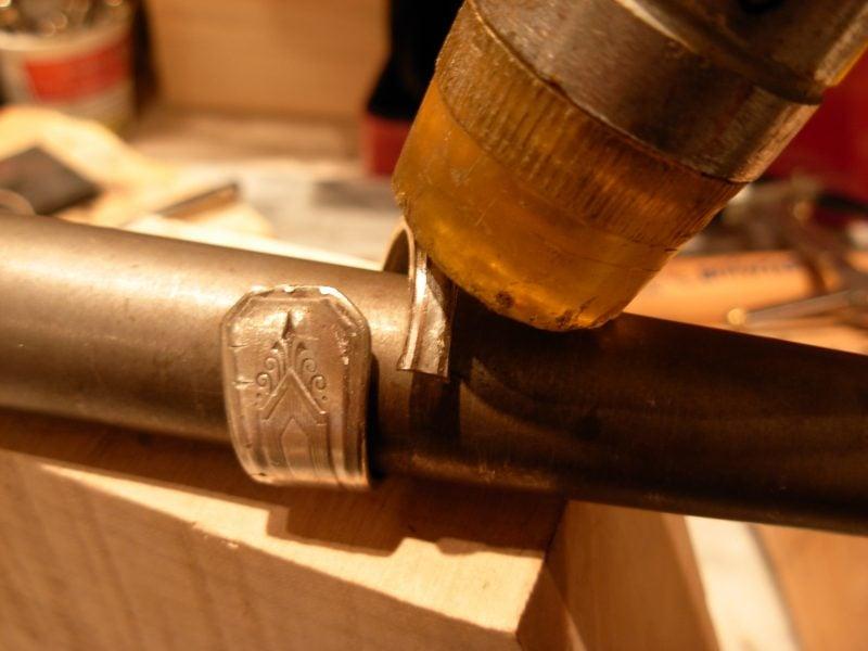 Schmuck aus Silberbesteck Schritt 3