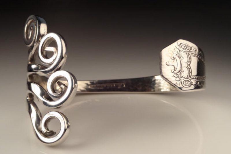Schmuck aus Silberbesteck