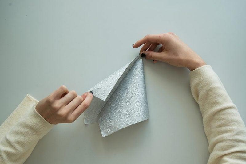 diy servietten falten anleitung marquee