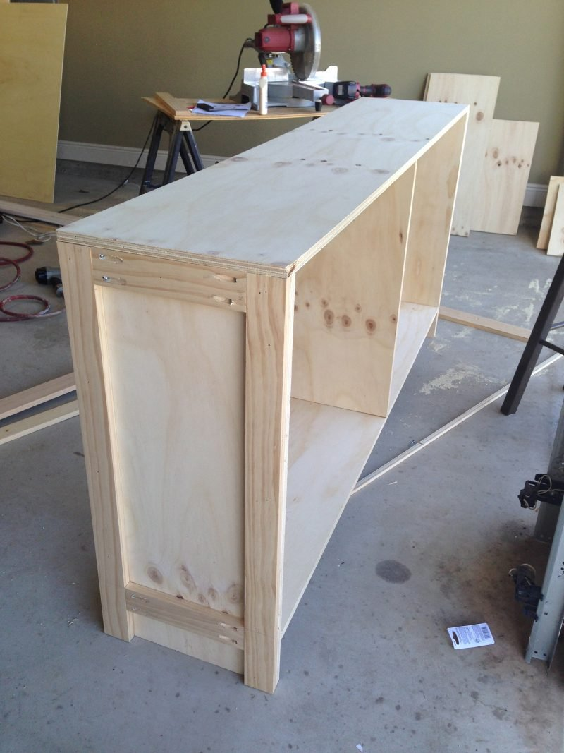Sideboard selber bauen: Anleitung Schritt 3
