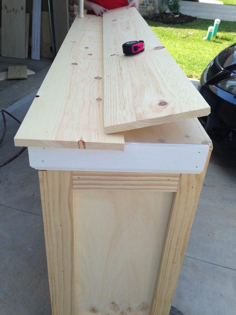 Sideboard selber bauen: Anleitung Schritt 4