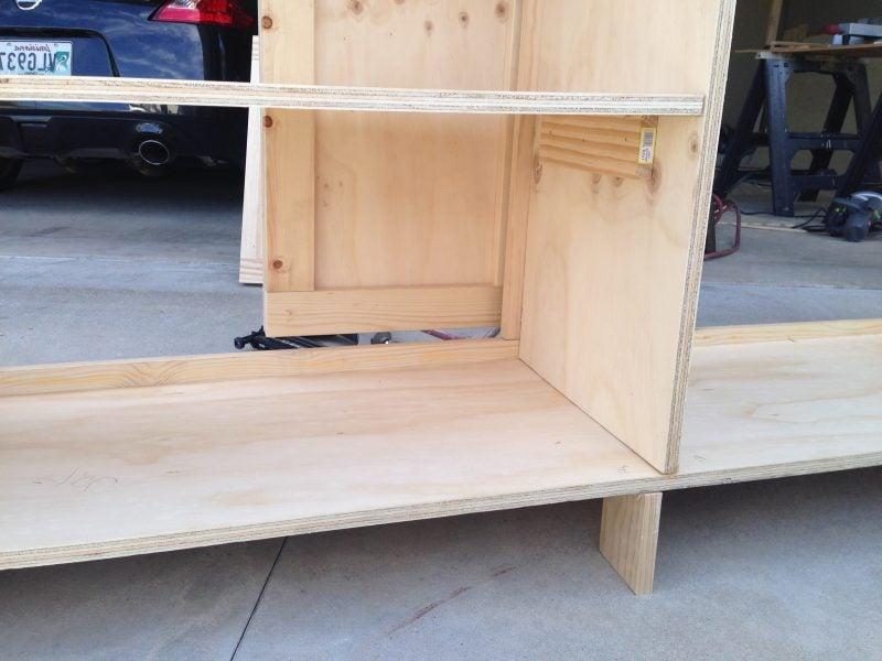 Sideboard selber bauen: Anleitung Schritt 5