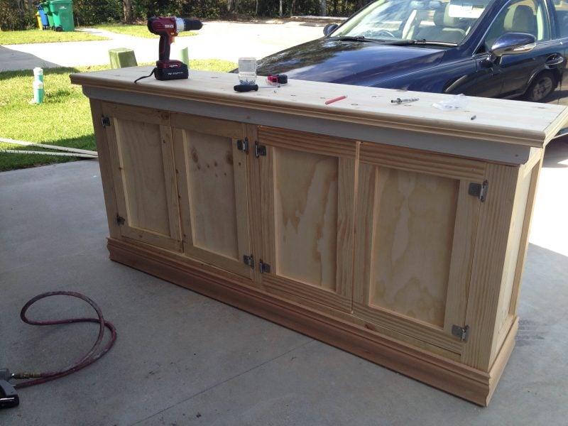 Sideboard selber bauen: Anleitung Schritt 6
