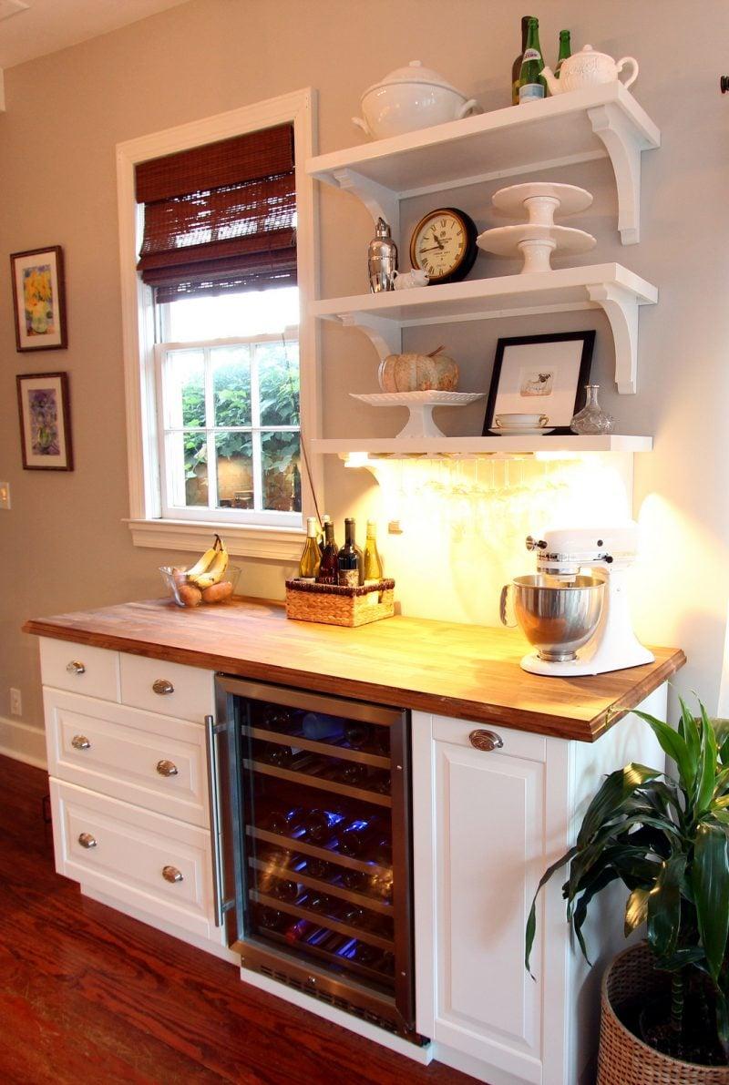 Sideboard selber bauen und die Küche im Landhausstil einrichten
