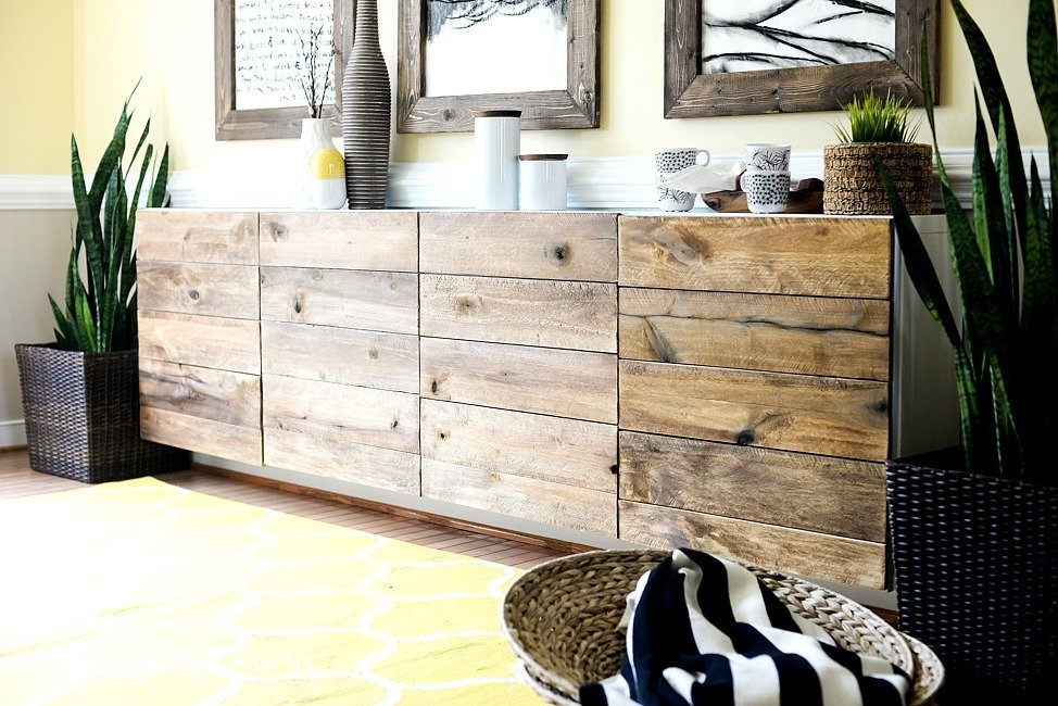 sideboard selber bauen 49 diy ideen und anleitung diy. Black Bedroom Furniture Sets. Home Design Ideas