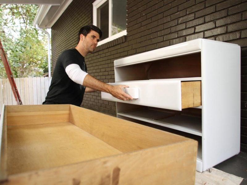 Ein gekauftes Sideboard selber bauen