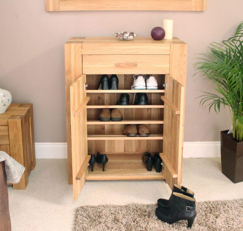 Sideboard selber bauen: Viel Platz für die Schuhe