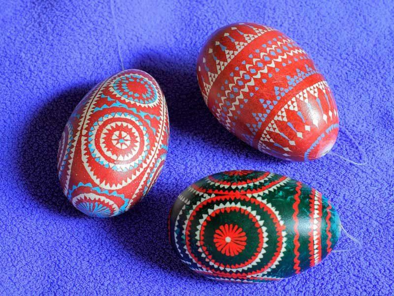 sorbische Ostereier Gestaltungsideen und Maltechniken
