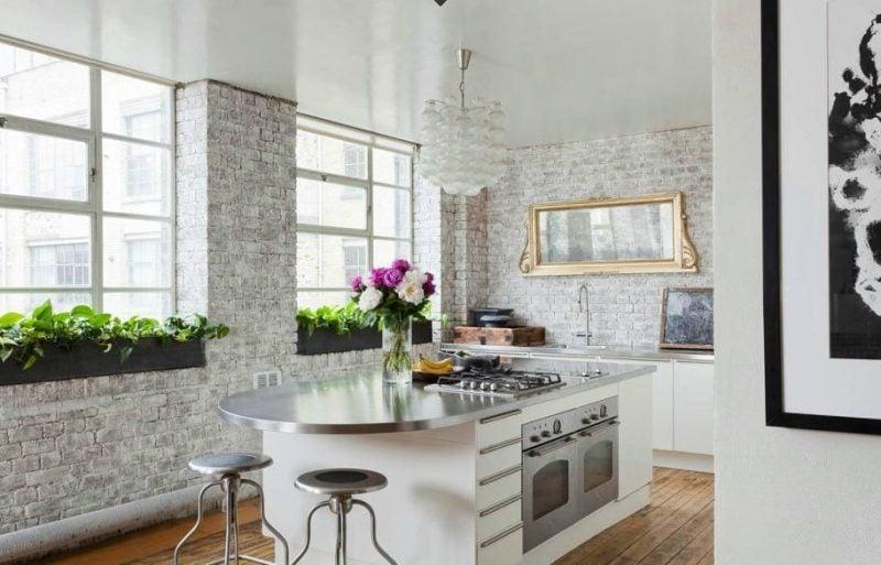 Spritzschutz für Küche aus Naturstein
