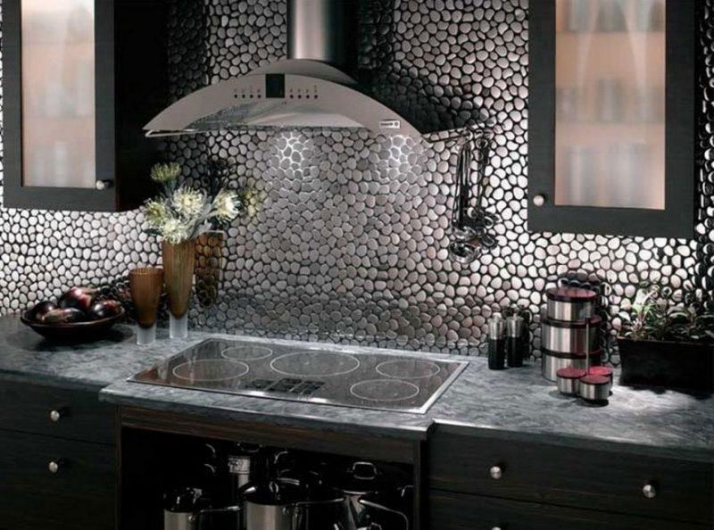 Spritzschutz für Küche Edelstahl