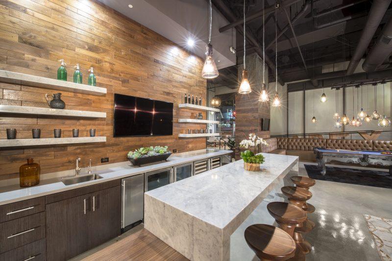 Bringen Sie die Natur mit Holz Spritzschutz für Küche