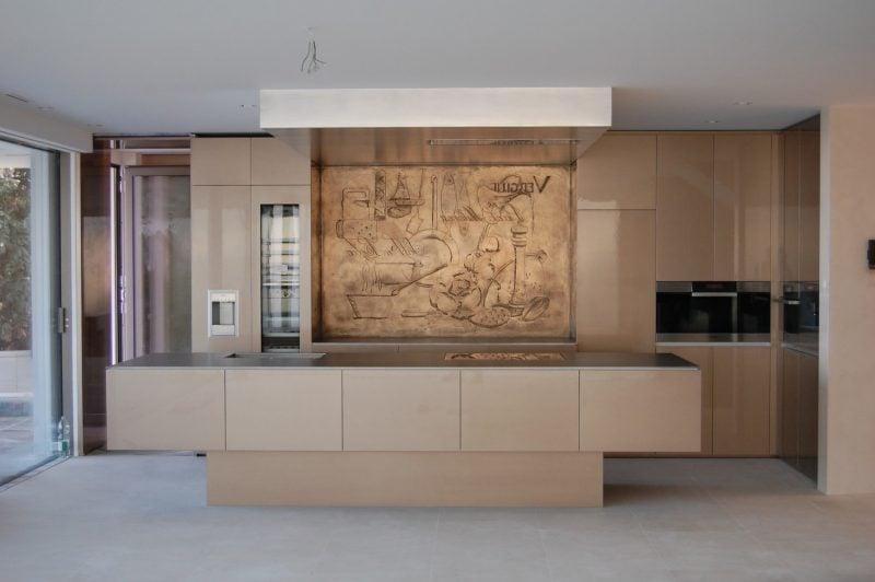 Drücken Sie Ihr Individualismus mit Holz Spritzschutz für Küche