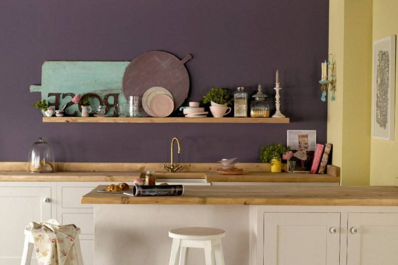 Spritzschutz für Küche Latexfarbe