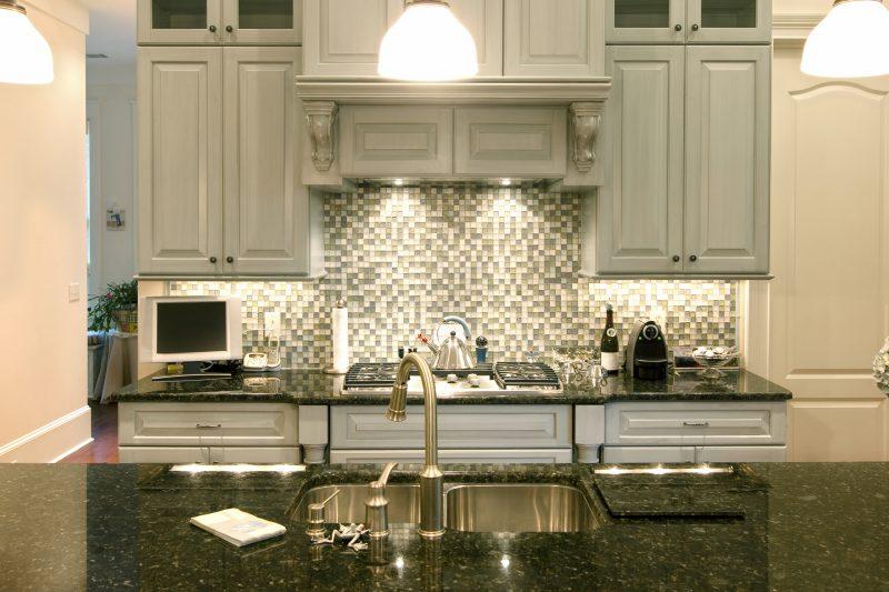 Spritzschutz für Küche mit Mosaik