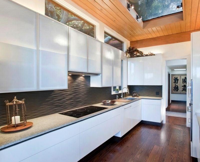 spritzschutz f r k che 39 ideen f r individuelles design. Black Bedroom Furniture Sets. Home Design Ideas