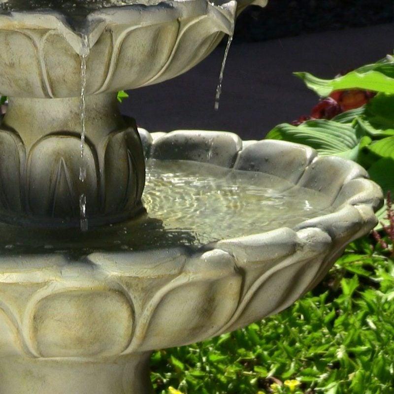 stein gartenbrunnen beruhigend