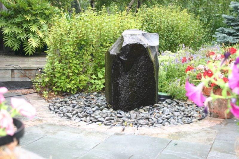 stein gartenbrunnen außerordentlich