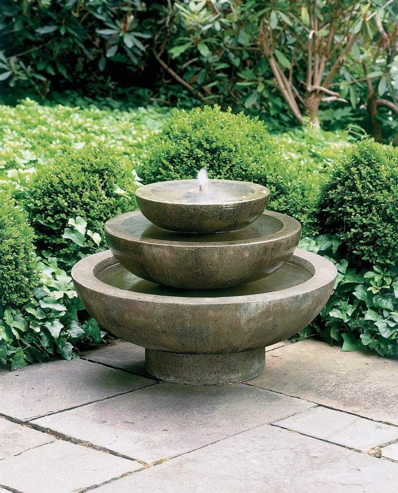 stein gartenbrunnen verschieden