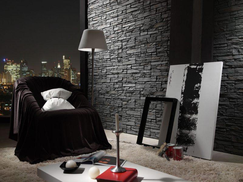 Elegant Steinoptik Wand Preis