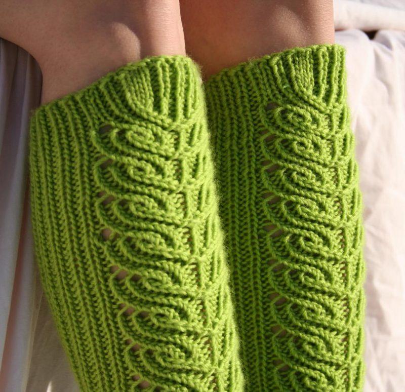 Strickmuster für Socken für Fortgeschrittene